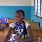 Evelyn po tom ako sa dozvedela, že bude môcť nastúpiť do školy