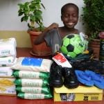 Pravidelná pomoc od darcov