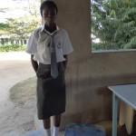 Vyčerpaná po celodennom kolotoči v prvý den v škole